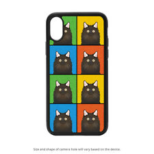 Chantilly-Tiffany Cat Case for iPhone 12 Se 11 X Xr Xs Pro 8 7 Galaxy S20 S10