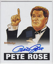 2012 LEAF ORIGINALS WRESTLING AUTO: PETE ROSE #PR1 AUTOGRAPH WWE HALL OF FAME