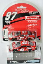 KURT BUSCH DARLINGTON THROWBACK SET - 2003 Nascar #97 + 2018 Nascar #41 - 1:64