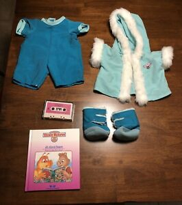 """Teddy Ruxpin """"Snowsuit for Hiking"""" made by Worlds of Wonder. 1985"""