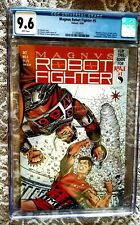 Valiant Magnus Robot Fighter #5 CGC 9.6 white pages with card inserts