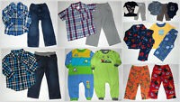 Boys 2T Lot Jeans Shirts pajamas Rompers Spring Winter Carters Old Navy ...