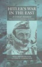 Hitler's War in the East, 1941-1945. (3rd Edition): A Critical Assessment (Paper