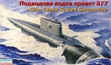 Eastern-u-boat kilo class Soviet Submarine proyecto 877 U-Boot 1:400 Marine