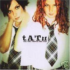 T.A.T.U. All The She Said MIX& UNRELEASE & VIDEO CD single TATU SEALED USA Seler