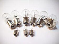 Conjunto de peras, bombillas + faros pera/bulb set honda mt 5 50 - 6 voltios