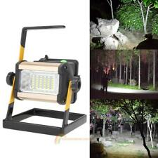 50W 2400LM LED Rechargable Floodlight Landscape Work Camping Fishing Light Lamp