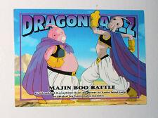 CARTE CARD CARDDASS DRAGON BALL Z MADE IN JAPAN  N°28 MAJIN BOO BATTLE