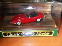 Corgi Classic Models 96080 Jaguar E TYPE OPEN TOP RED/BLACK Vintage Unopen Box.