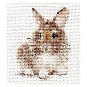 Alisa Cross Stitch Kit - Rabbit