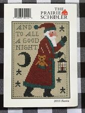 Santa 2015 The Prairie Schooler Counted Cross Stitch Chart Pamela Byrd Smith