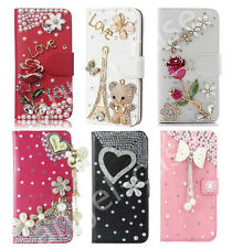 Luxury Bling Diamond Leather Flip Wallet Case Cover for iPhone 11 Pro Max XS 8+