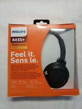 Philips SHB3075 Extra BASS+ Bluetooth Wireless On-Ear Headphones w/ Microphone Z