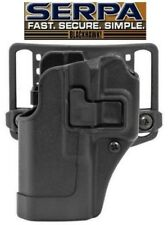 Blackhawk for GLOCK 19/23/32/36 Serpa CQC Holster LEFT 410502BK OWB Belt Paddle