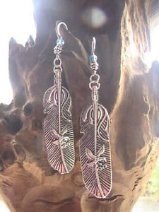 NATIVE AMERICAN EARRINGS EAGLE LARGE BLESSED