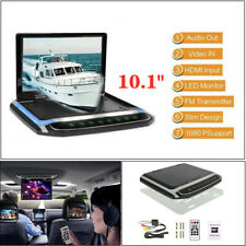 """10.1""""Hd Car Roof Mount Flip Down Mp5 Monitor Overhead Video Fm Player Universal"""