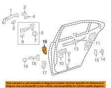 Lexus TOYOTA OEM 07-17 LS460-Door Hinge-Upper Right 6873030180