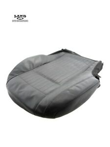 MERCEDES W216 CL-CLASS DRIVER/LEFT FRONT SEAT CUSHION LOWER VENTED DYNAMIC BLACK
