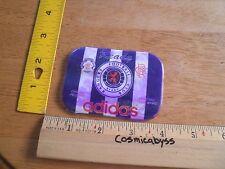 Adidas Rangers Football Club Ready plastic sticker card