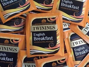 Twinings English Breakfast Tea - individually enveloped bags - FREE UK POSTAGE