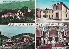 # S. ELPIDIO: SALUTI DA - 4 VEDUTE