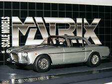 Matrix 1961 Maserati 5000 GT Pininfarina Coupe Metallic Silver LTD ED 1/43