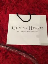 gieves hawkes Brown And Black Reverse Belt Size One