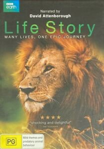 Life Story : Narrated by David Attenborough (DVD, 2015, 2-Disc Set) BRAND NEW