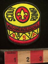 Vtg 1971 DRUM THEME SCOUT-O-RAMA Boy Scout Patch 70Z7