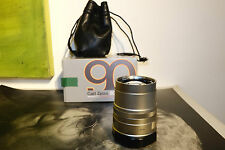 Contax G Carl Zeiss Sonnar T* 90mm F2.8 G1 G2 with box & bag T-coated