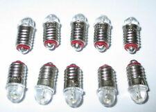 LED Spare Bulbs for House Lighting E5.5 16-24V - 10 X