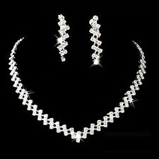 SET ORECCHINI + COLLANA STRASS - Necklace & Earrings