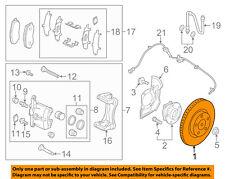 MAZDA OEM 13-15 CX-5 Front Brake-Disc Rotor K01133251B