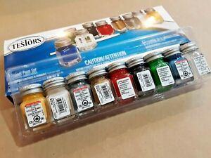 New 9146XT TESTORS ENAMEL GLOSS MODEL PAINT SET, Packaging may vary