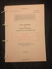 BRITISH ARMY  CLANSMAN 351/352 RADIO USER HANDBOOK FALKLANDS ULSTER RAF REGT SAS
