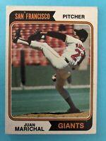 1974 Topps Baseball Card #330 Juan Marichal San Francisco Giants