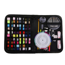 Portable Travel Home Sewing Kit Case Needle Thread Tape Scissor Button