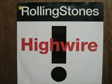 ROLLING STONES 45 TOURS HOLLANDE HIGHWIRE