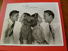 """RONALD  REAGAN   SIGNED  AUTOGRAPHED   8 X 10 """"   FROM  THE  MOVIE  BROTHER  RAT"""