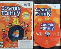 Cosmic Family Game (Nintendo Wii, 2007) Complete 100% Guaranteed