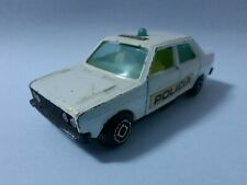 GUISVAL white Seat 131 police 1/64 Made in Spain car no box coche caja voiture