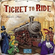 BLACK FRIDAY SALE!!!! Award Winning Ticket To Ride Board Game -USA-FREE SHIPPING