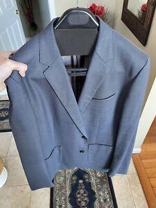 Sport Coat Blazer (Bonobos) 44R Unhemmed - Fits Modern And Well