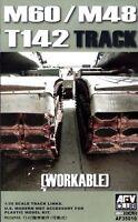 AFV Club 1/35 AF35010 WORKABLE T142 Track Link for US M48/M60 Tank