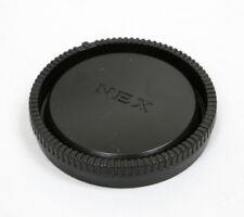 Black Plastic Rear Lens Cap for Sony E Mount NEX-3 NEX-5 NEX-10 VG10 18-55 16-50