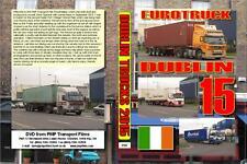 3187. Dublin. Ireland. Trucks. September 2015. Dublin Port the busiest point in