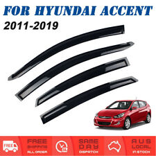 Weathershields Weather Shields Window Visors For Hyundai Accent Hatch 2011-2019