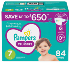Pampers Cruisers Diapers Mega Pack 3 4 5 6 7 Jumbo. You choose Size and Count