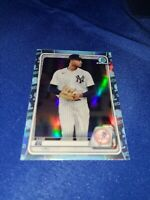 LUIS GIL 2020 Bowman Draft CHROME SKY BLUE REFRACTOR CARD NEW YORK YANKEES!!!!