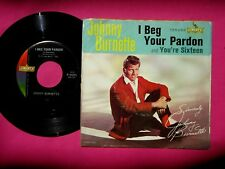 JOHNNY BURNETTE - You're Sixteen - 45 rpm with Picture Sleeve - Liberty 55285